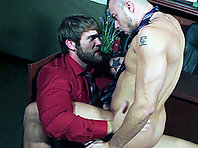 Jessie Colter and Colby Keller at The Gay Office