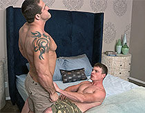 Teddy and Curtis: Bareback