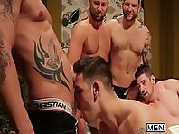 Jizz Orgy with Rod Daily