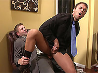 Rocco Reed at the Gay Office