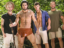 Tarzan : A Gay XXX Parody Part 3
