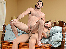 straight guy fucked by huge cock - Billy Santoro | Colby Jansen