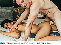 A IS FOR ALPHA: GREG MCKEON & MARCUS YOUNG
