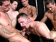 Gay orgy at Porker night