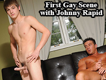 Johnny Rapid first porn scene