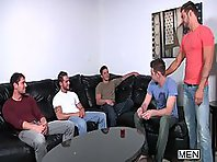 Andrew Blue Gay Orgy