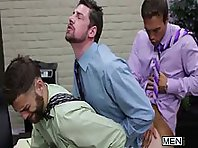 Gay Office with Rocco Reed