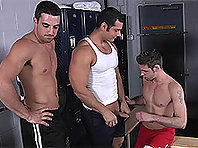 Gay Coach Porn Duncan Black, Marcus Ruhl and Jack King