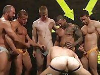 Hot House gay orgy