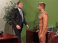 Colby Jansen at The Gay Office