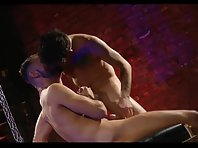 This sexy, spunk drenched scene