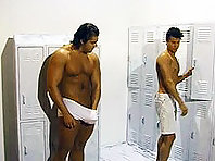 Gay locker room porn